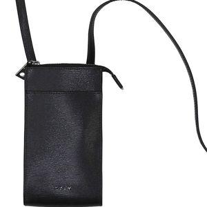 DKNY Bryant Leather Crossbody Smart Phone Purse
